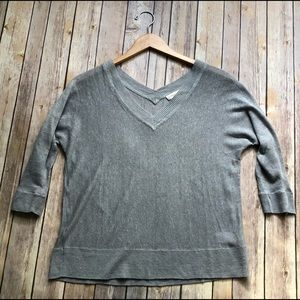 Coldwater Creek 3/4 sleeve sweater